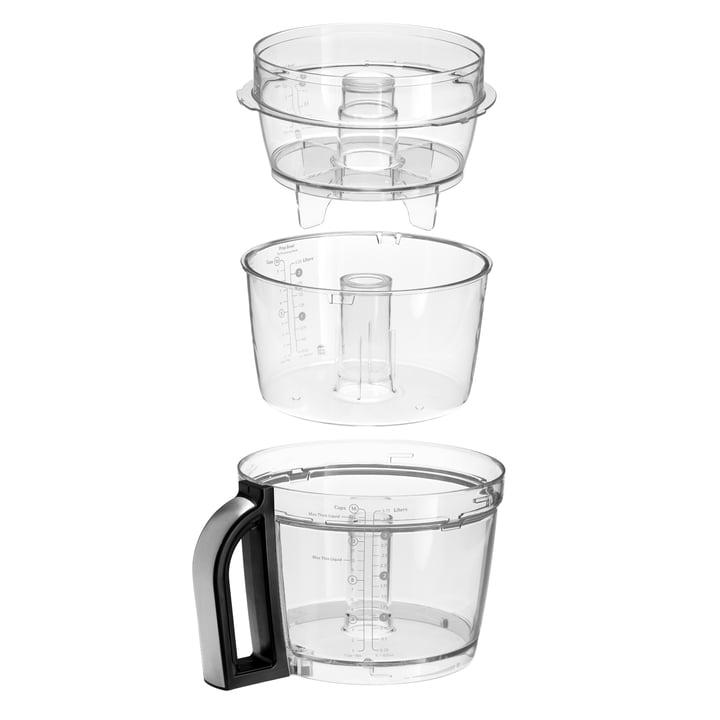 KitchenAid - Artisan Food Processor, 4,0 L - bowls