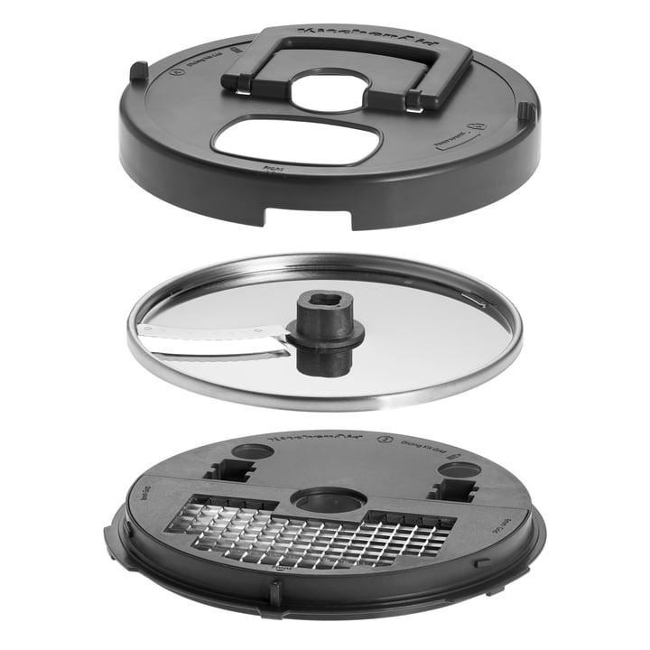 KitchenAid - Artisan Food Processor, 4,0 L - cubing accessories