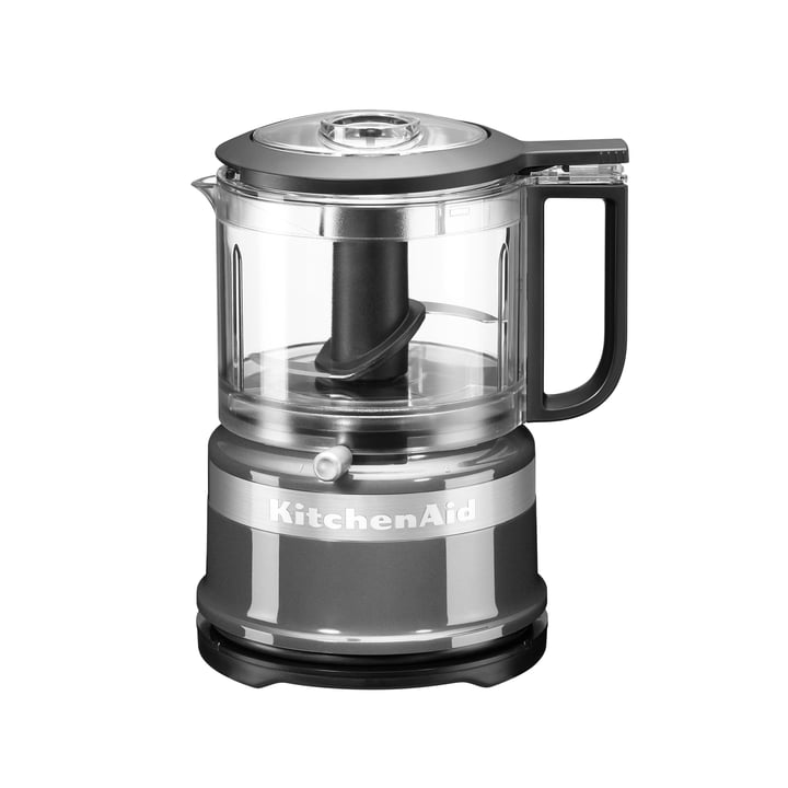 KitchenAid - chopper, silver - side