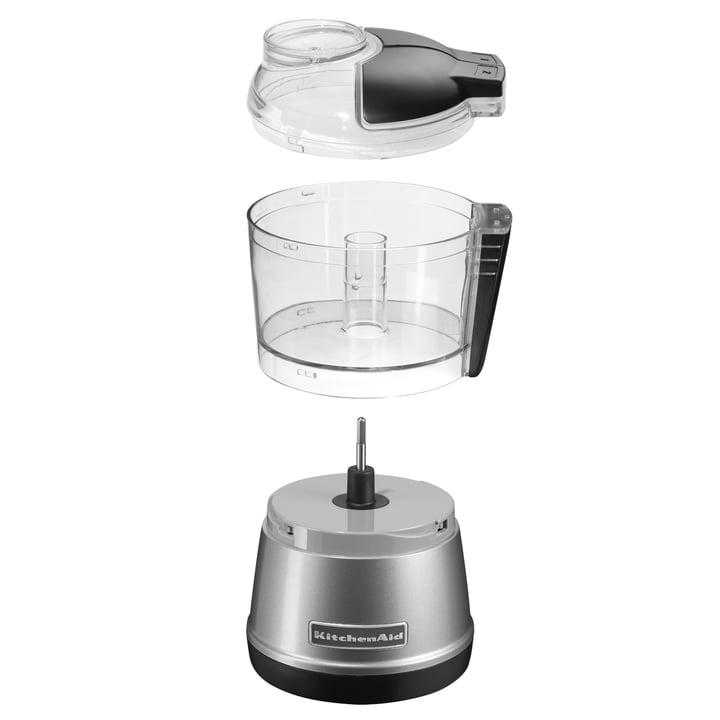 KitchenAid - chopper, silver - single pieces