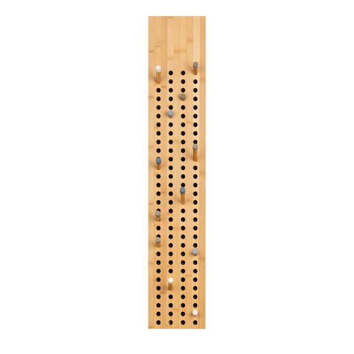 We do wood - Scoreboard Coat rack vertical, bamboo nature