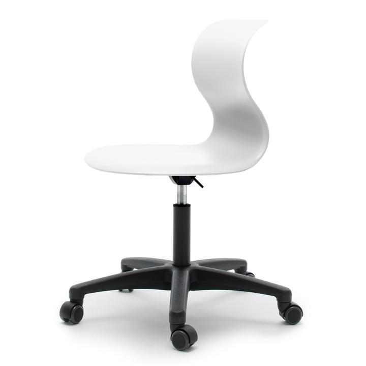 Flötotto - Pro 6 swivel chair, white