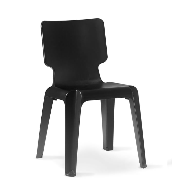 Authentics - Wait chair, black