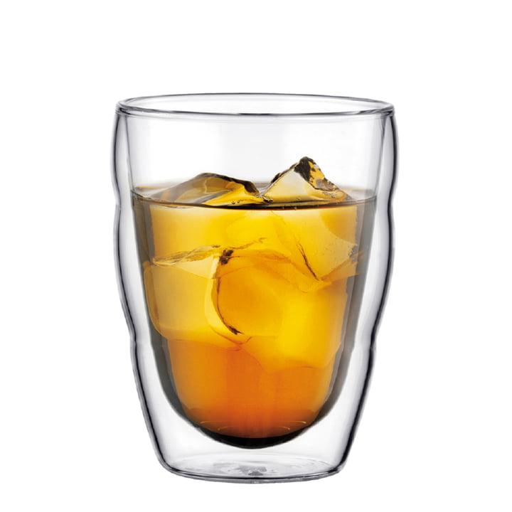 Bodum Pilatus Drinking Glass with ice tea