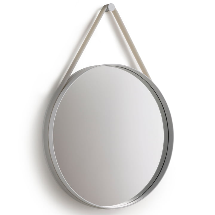 Strap Mirror 70 cm from Hay in grey