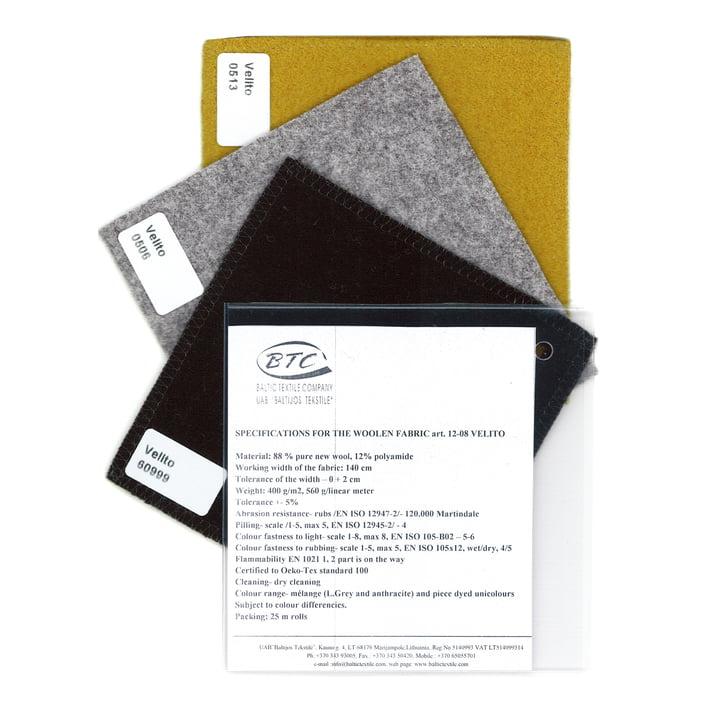 Textile Sample Velito by The Hansen Family