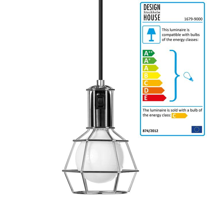 Design House Stockholm - Work Lamp, silver