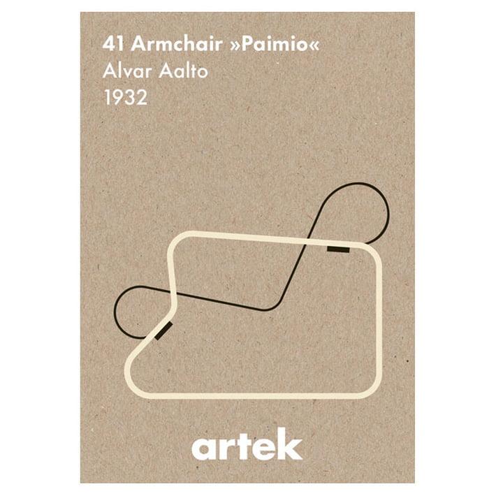 The Icon Poster - Paimio from Artek