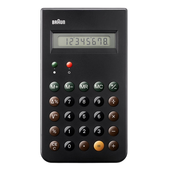 Braun, Calculator BNE001BK - Front
