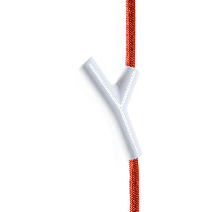 Authentics - Wardrope wardrobe rope, red / white