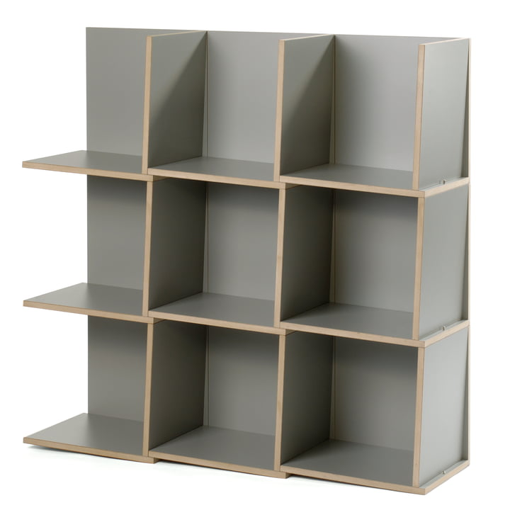 Jonas Jonas - Tri modules shelf, grey