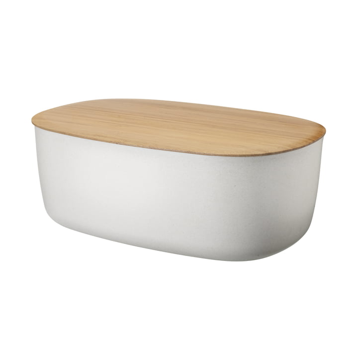 Box-It Bread Bin by Rig-Tig by Stelton in Nature White