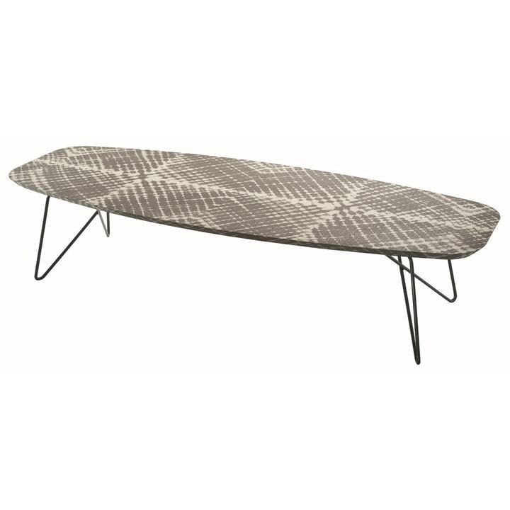 Zanotta - Ink side table, 160 h35, Raute, mud