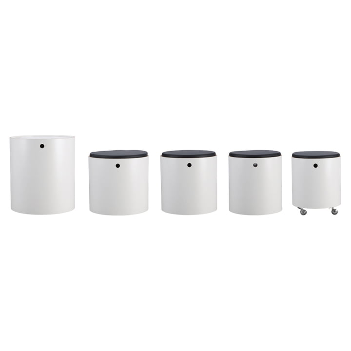 Verpan - Party Set, white - single cylinders