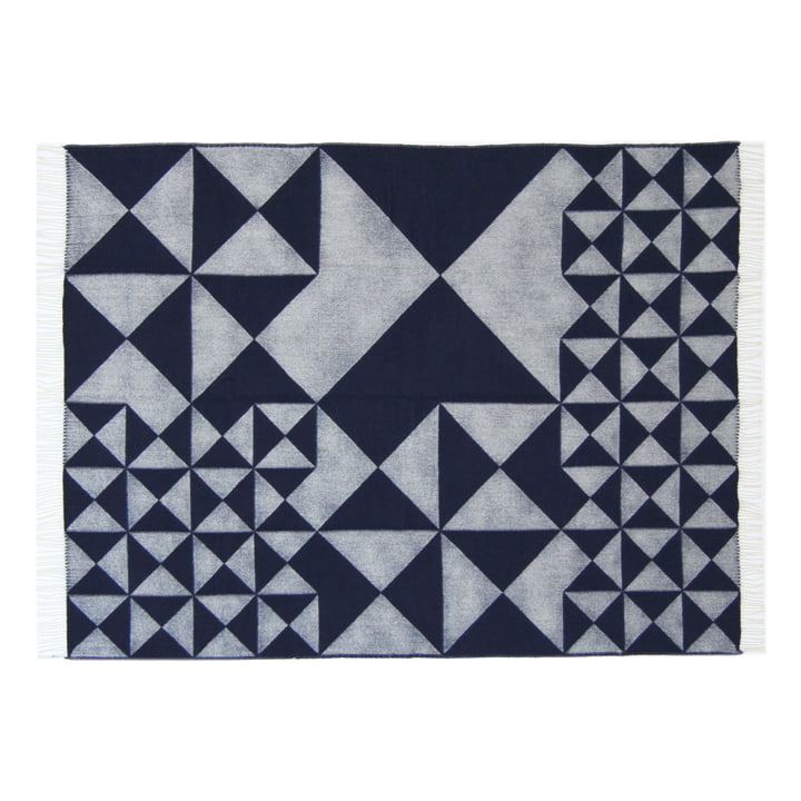 Mirror Throw by Verpan in blue