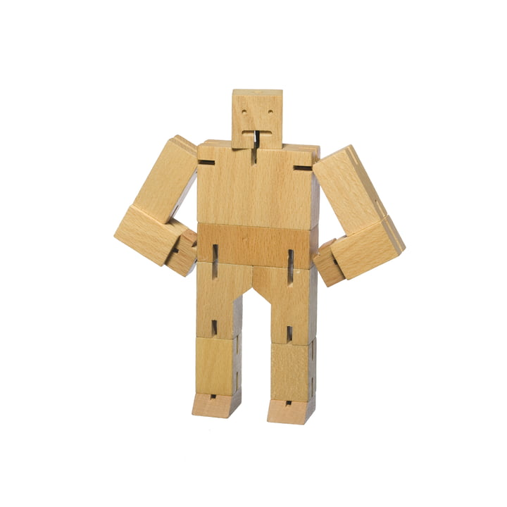areaware - Cubebot, small, beech wood