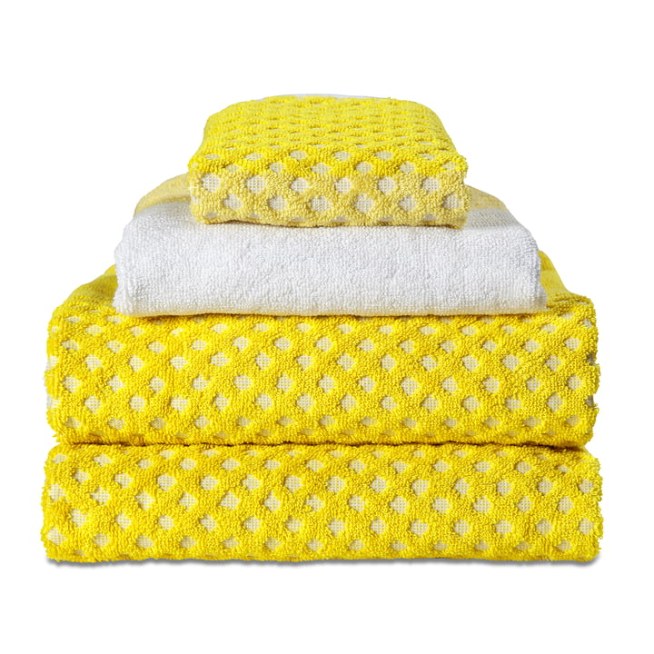Hay - Guest Towel, face cloth, autumn yellow