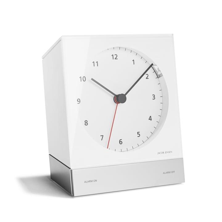 Jacob Jensen - Alarm Clock Series Quartz 342, white