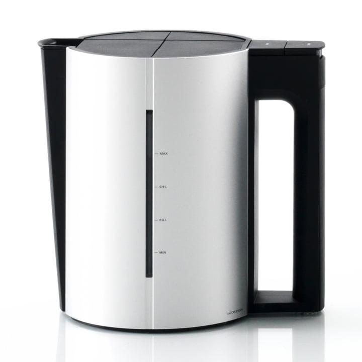 Jacob Jensen - Water kettle, 1,2 L, Alu matt / black