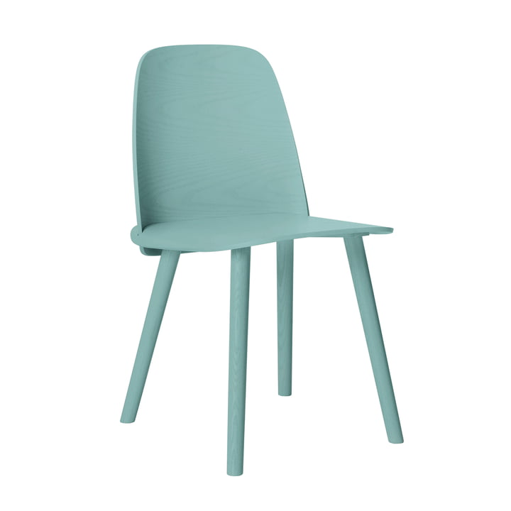Muuto - Nerd Chair, petrol blue