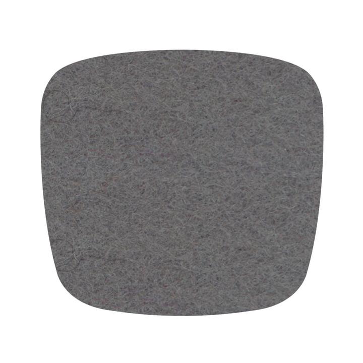 Hey Sign - Felt cushion Eames Plastic Side Chair, light grey