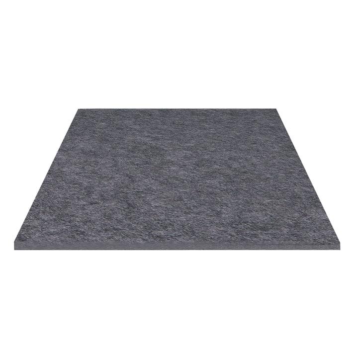Hey Sign - Trivet square, anthracite