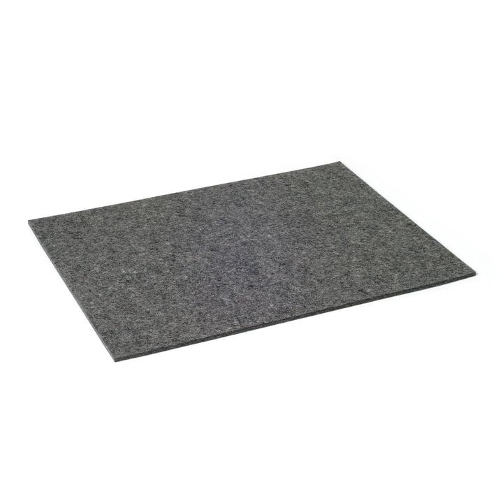 Hey Sign - Tischset rectangular, anthracite