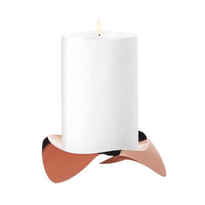Stelton - Papilio Uno Block Candleholder, copper