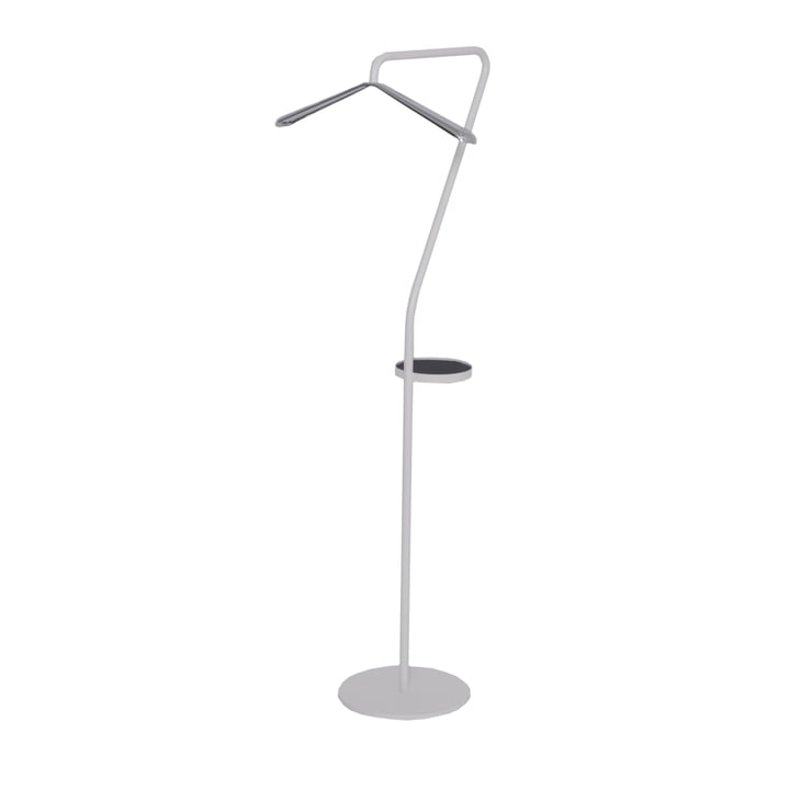 Pan Valet Stand by Mox in White