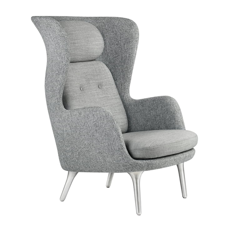 Fritz Hansen - Ro Chair, grey / grey