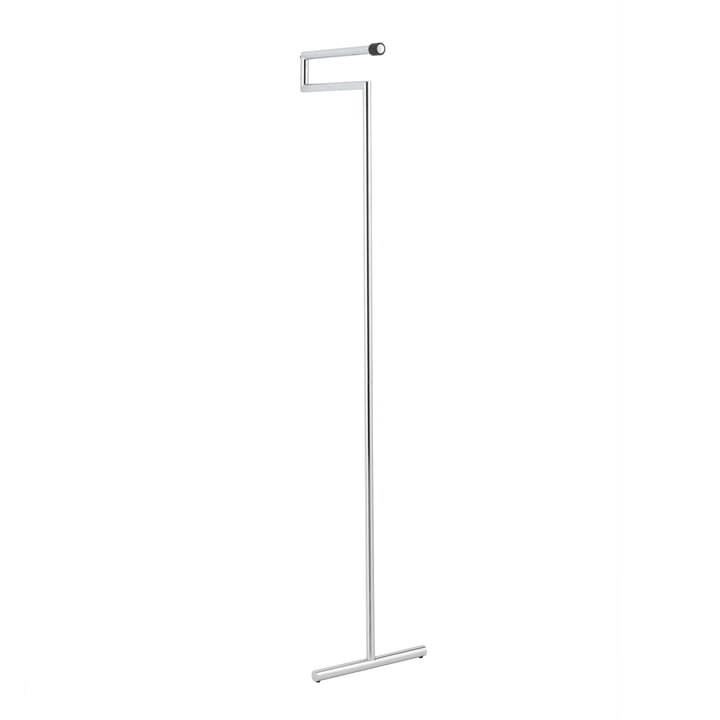 Snap Leaning Coat Rack by Mox in Brushed Chrome