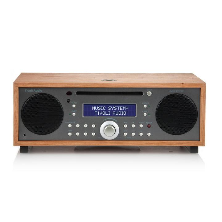 Tivoli Audio - Music System+ BT, cherry / metalic taupe