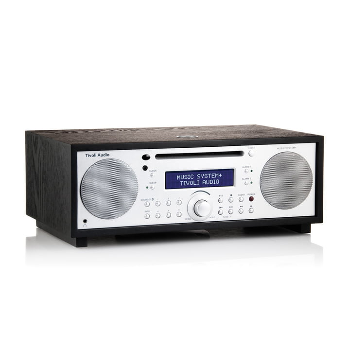 Tivoli Audio - Music System+ BT, black / silver, side