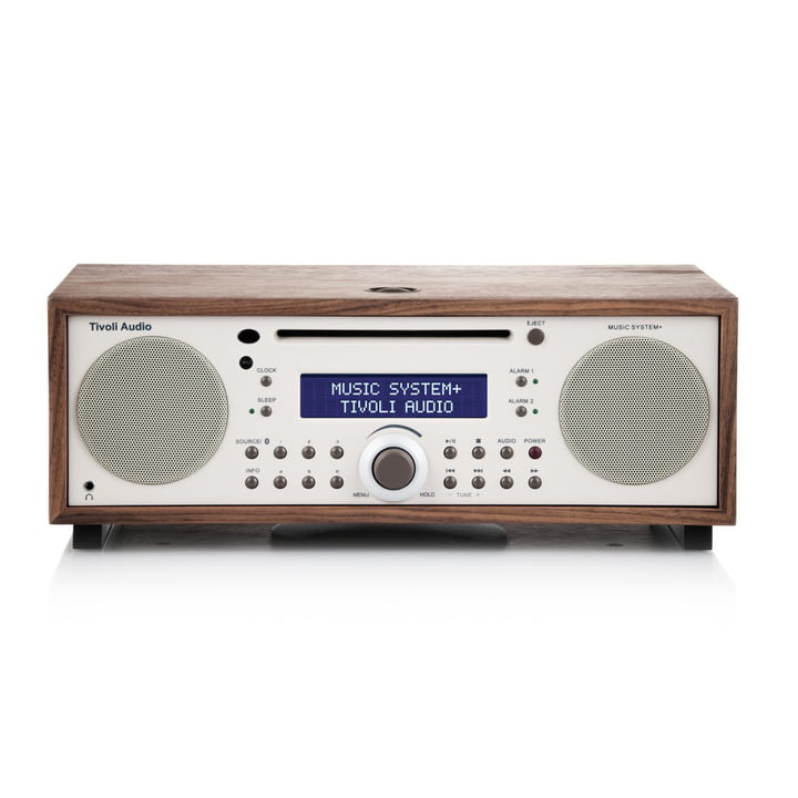 Tivoli Audio - Music System+ BT, walnut / beige