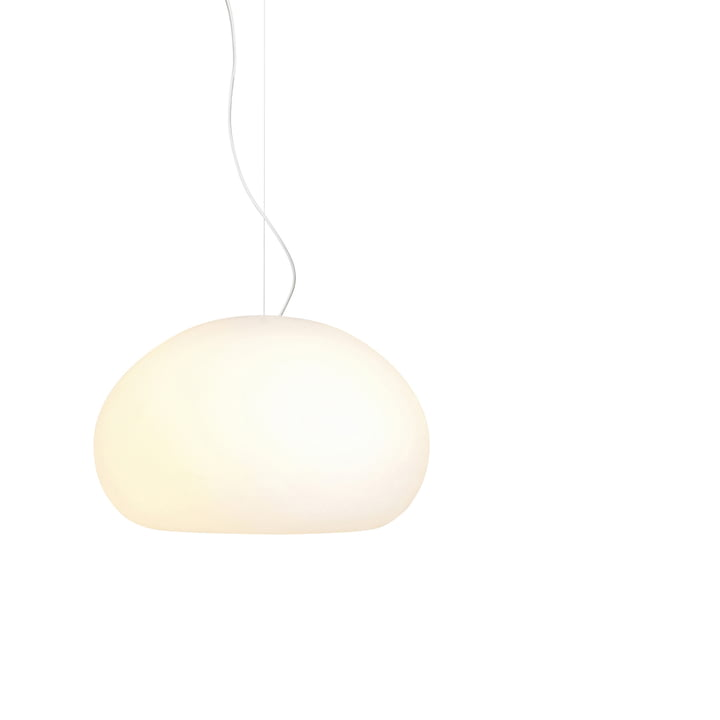 Fluid Pendant lamp Ø 23 cm from Muuto in opal white