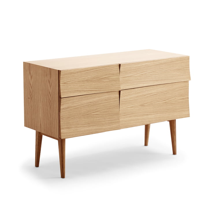 Reflect sideboard in small by Muuto in oak wood