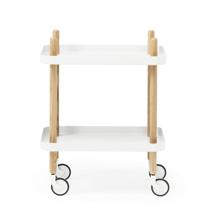 Block side car from Normann Copenhagen in ash / white