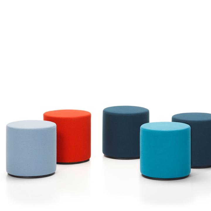 Vitra - Visiona, group blue / red