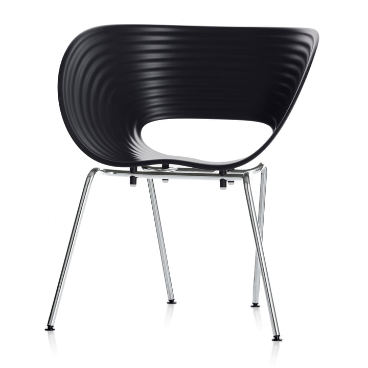 Vitra - Chair Tom Vac, basic dark
