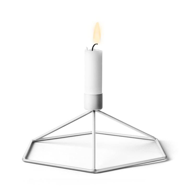Menu - POV Table candle holder, white
