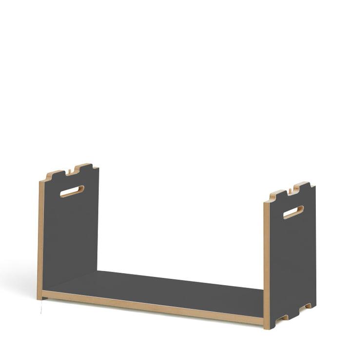 Hochstapler Shelving system add-on module from Tojo in anthracite