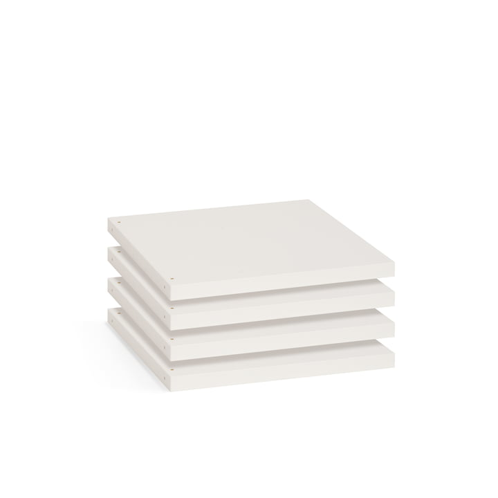 Flötotto - Shelving System 355 - Board S, white
