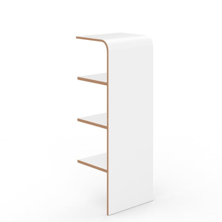Schuh Shelf by Tojo in white