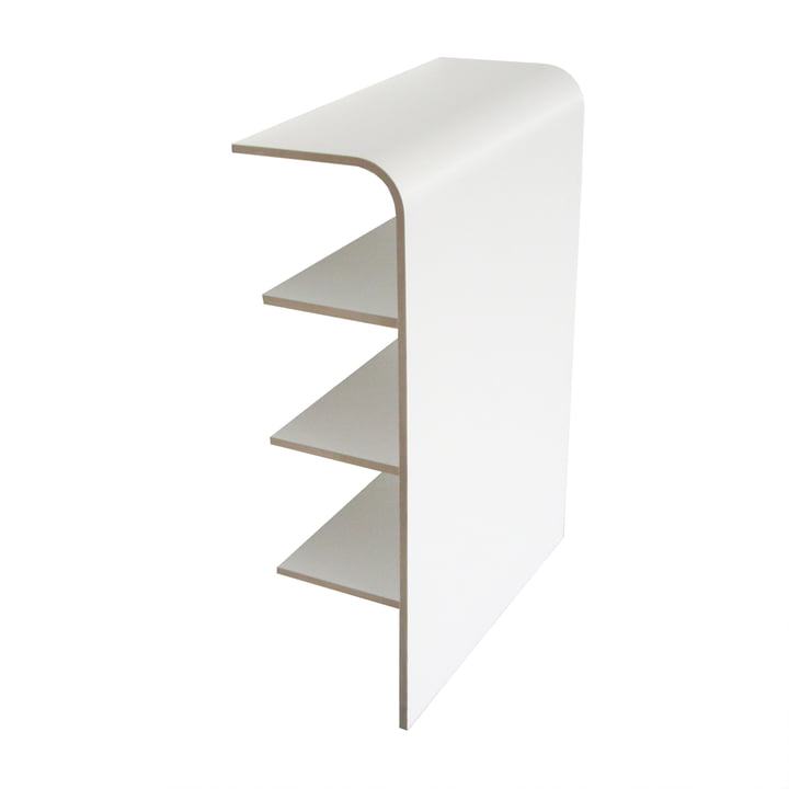 Platz Shelf by Tojo in white