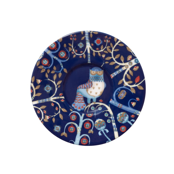 Iittala - Taika - blue - Espresso Saucer, Ø 11 cm