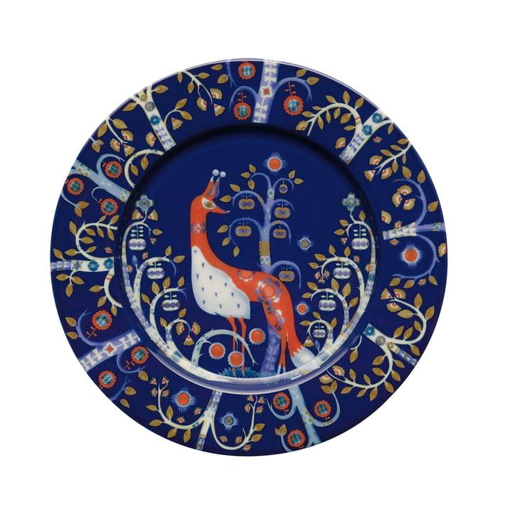 Iittala - Taika - blue - flat plate, Ø 22 cm