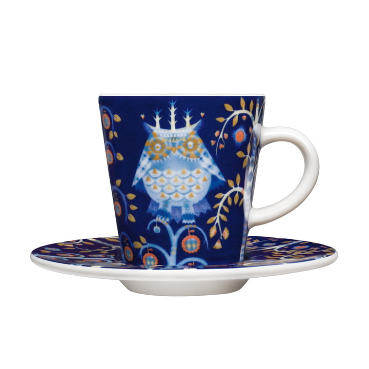 Iittala - Taika - blue - espresso cup with saucer