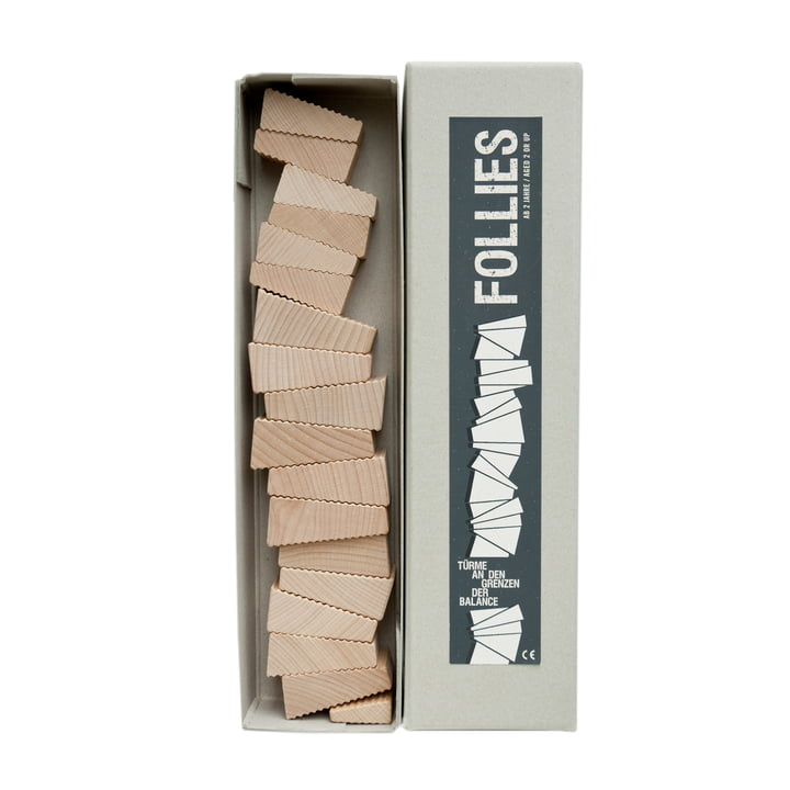 Lessing - Follies stacking game, package