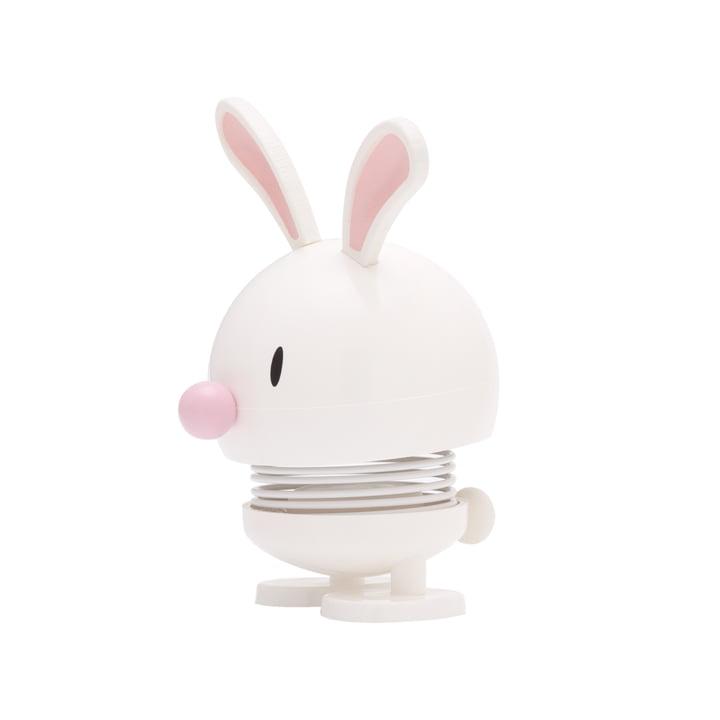 Hoptimist - Bunny Bimble, white, small, lateral
