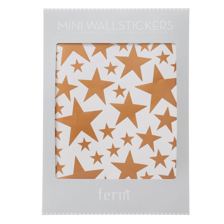 ferm living - Mini Wall Stickers, stars